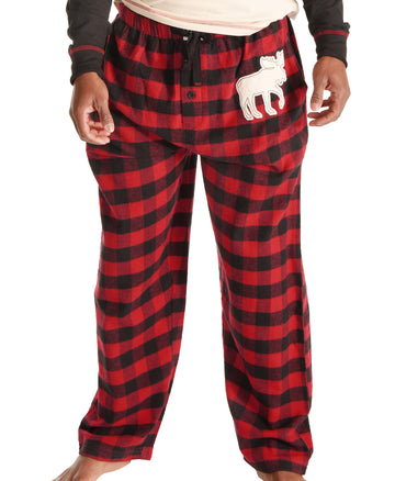 LAZY ONE MOOSE PLAID UNISEX PANT