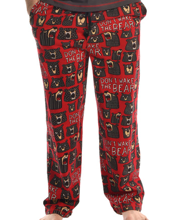 LAZY ONE DON'T WAKE THE BEAR PJ PANT