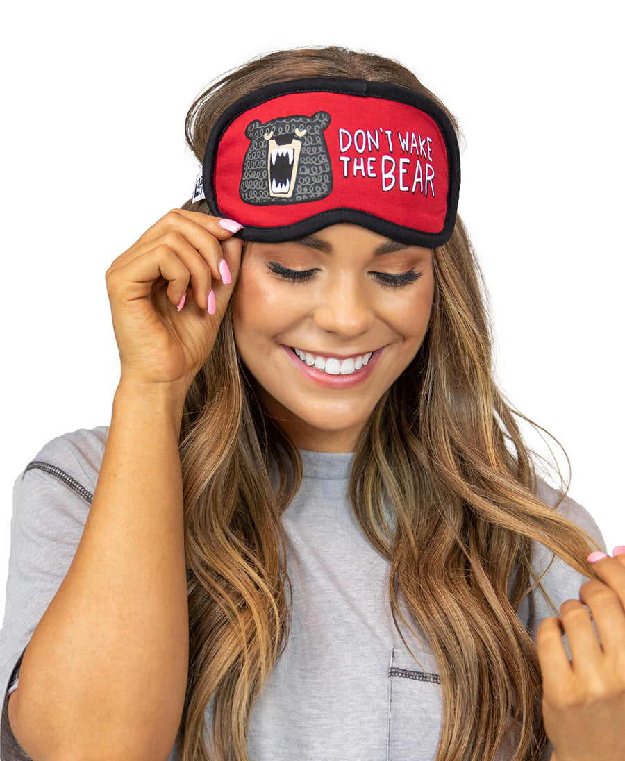 LAZY ONE DON'T WAKE THE BEAR SLEEP MASK