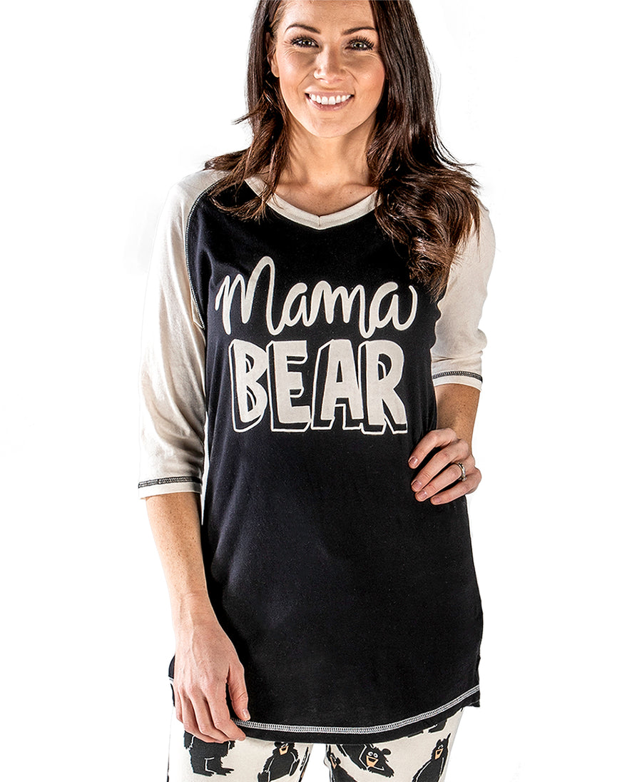 LAZY ONE MAMA BEAR PJ SHIRT