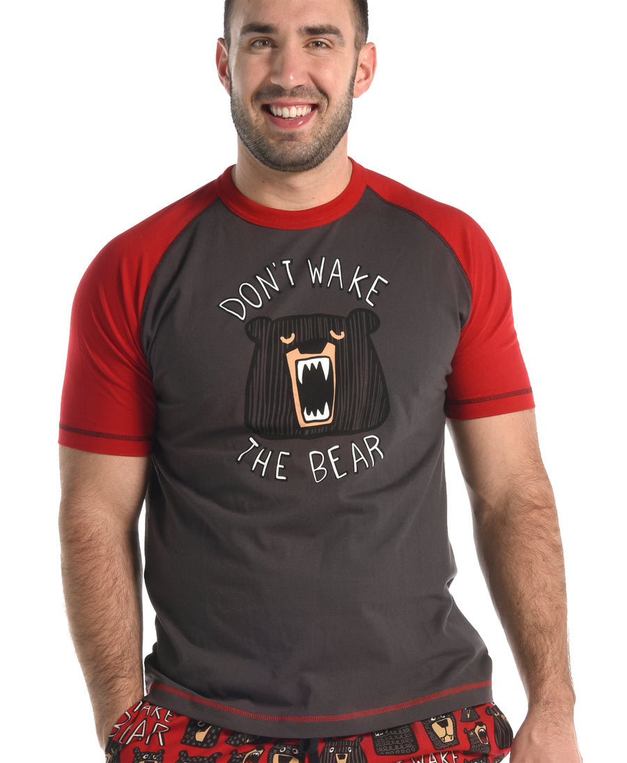 LAZY ONE DON'T WAKE THE BEAR PJ SHIRT