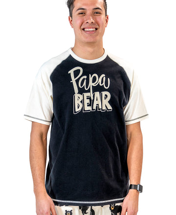 LAZY ONE PAPA BEAR PJ SHIRT