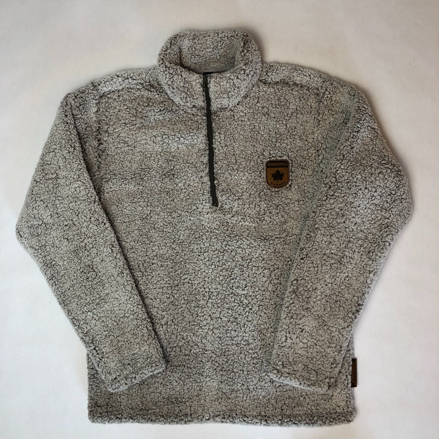 3/4 FLEECE WINNIPEG ZIP UP