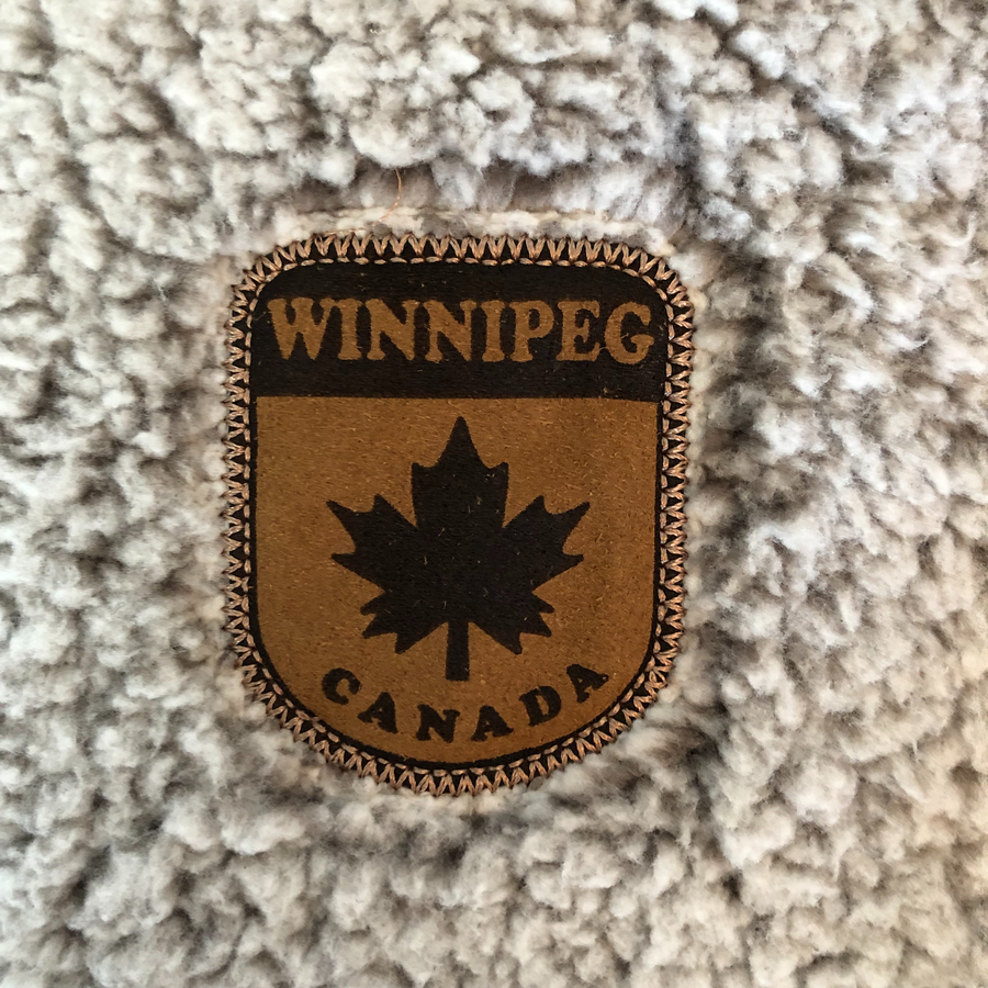 1/4 FLEECE WINNIPEG ZIP UP