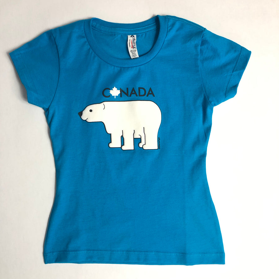 POLAR BEAR GIRLS T-SHIRT