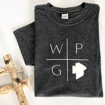 WPG CITY OUTLINE T-SHIRT