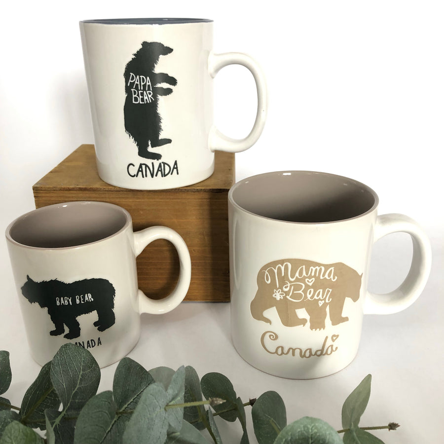 FAMILY BEAR MUGS