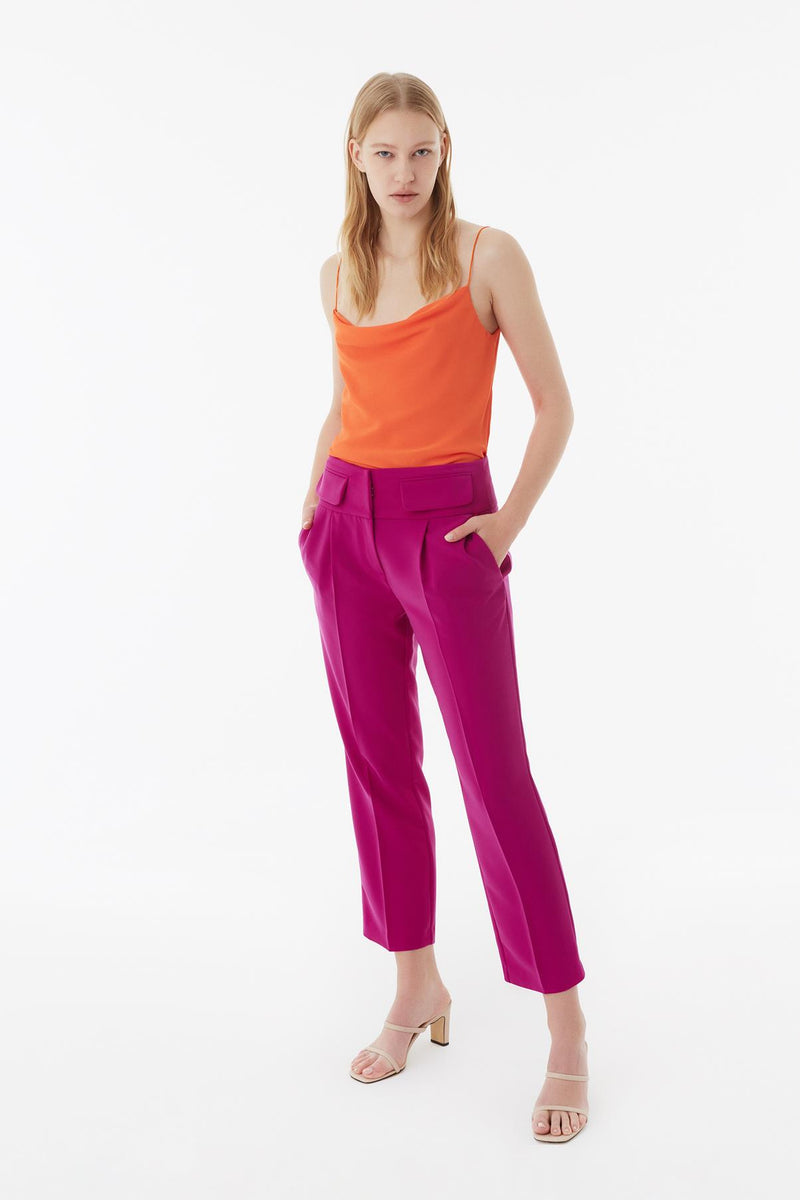 Exquise Trouser Fuchsia - Wardrobe Fashion