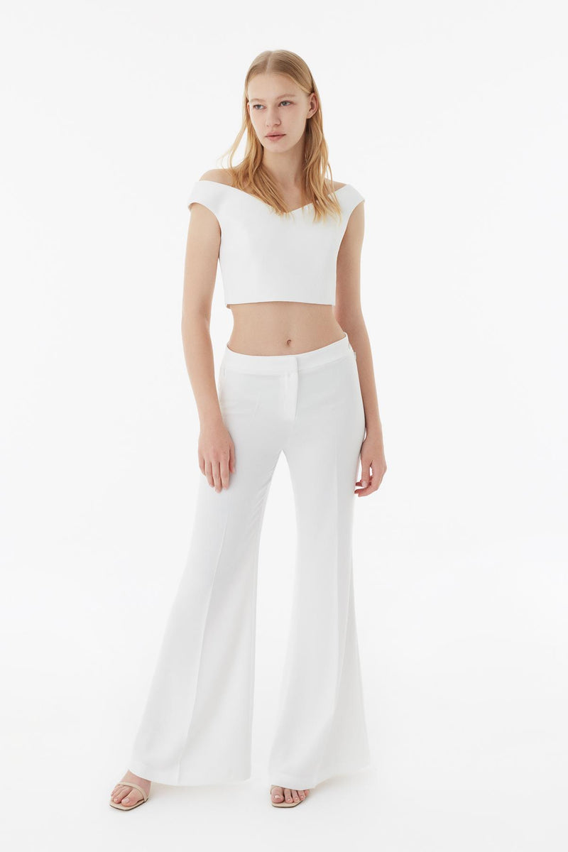 Exquise Trouser Off White