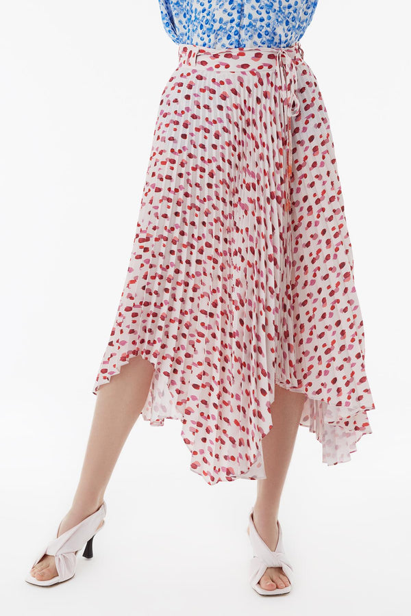 Exquise Skirt Dot Print Print - Wardrobe Fashion
