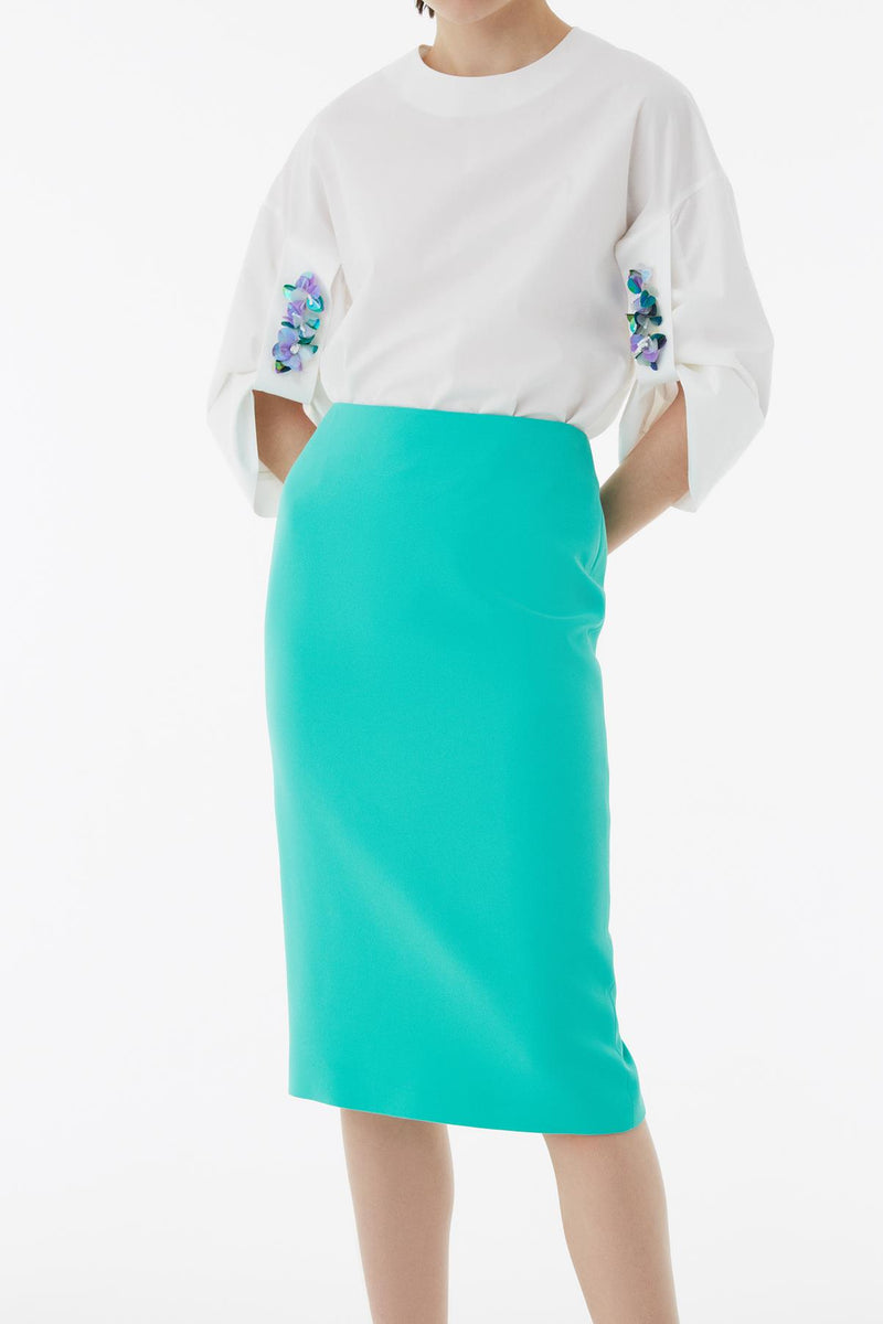 Exquise Skirt Green - Wardrobe Fashion