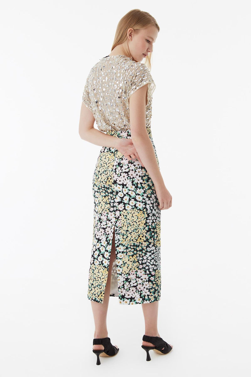 Exquise Skirt Print Print - Wardrobe Fashion
