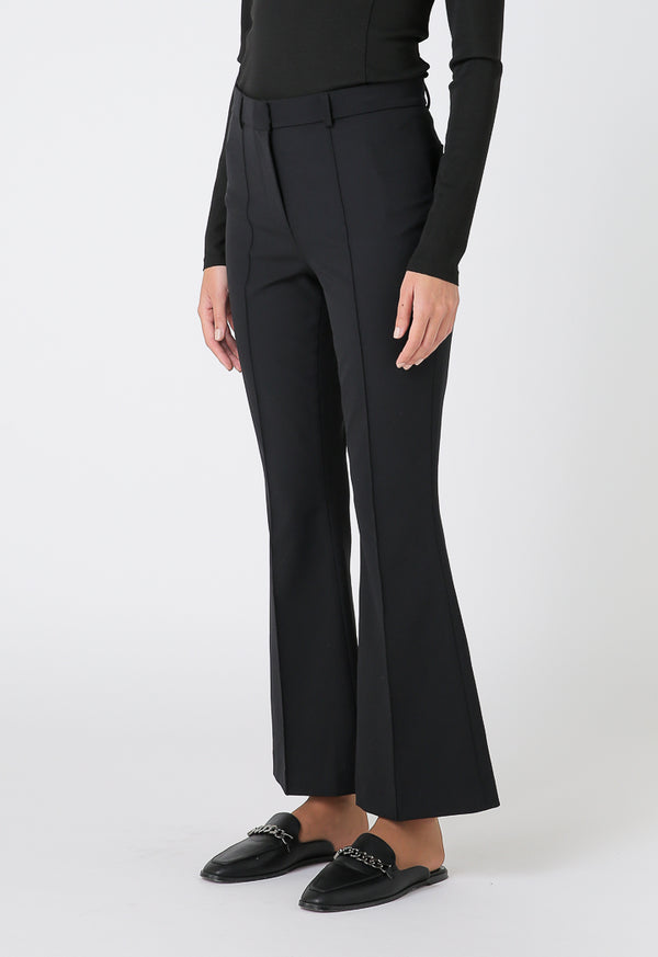 Choice Basics Flare Trouser Black
