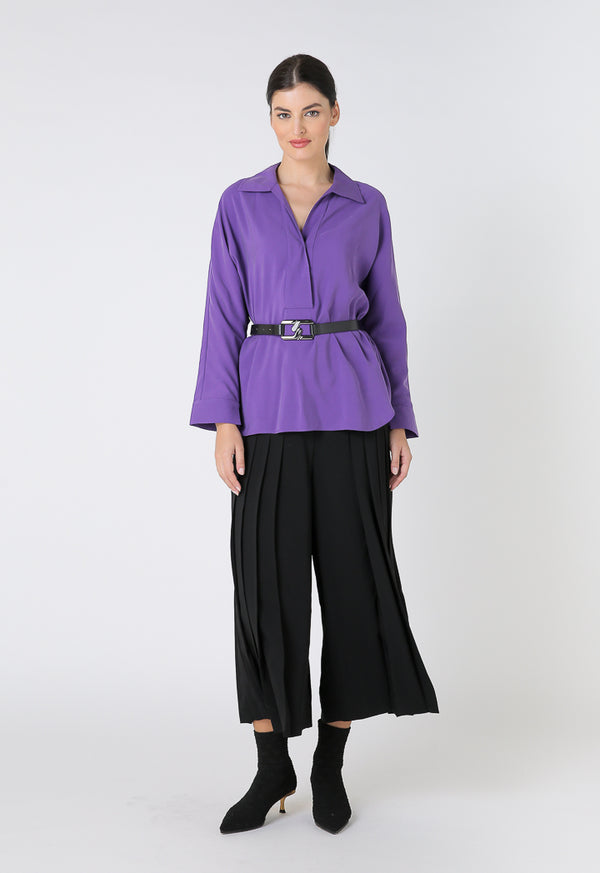Choice  Basics Long Sleeves Comfortable fit Purple