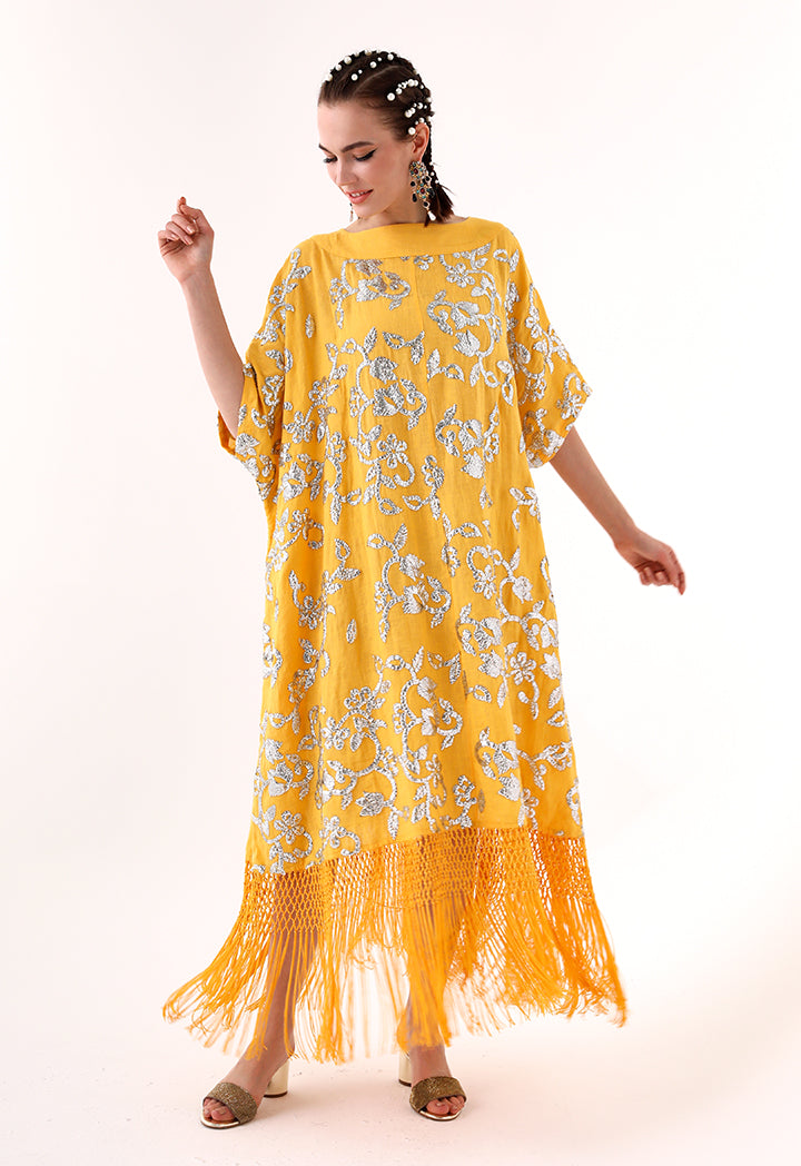 Choice Sequins Embroidery Dress Mango - Wardrobe Fashion