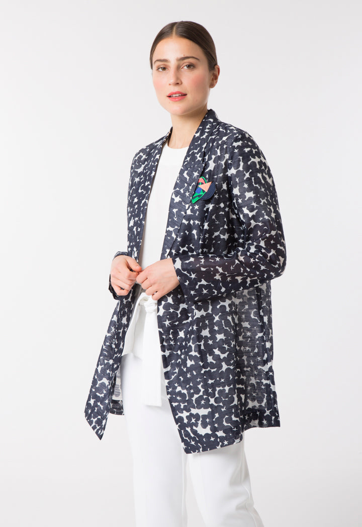 Choice Printed Light Outerwear Navy