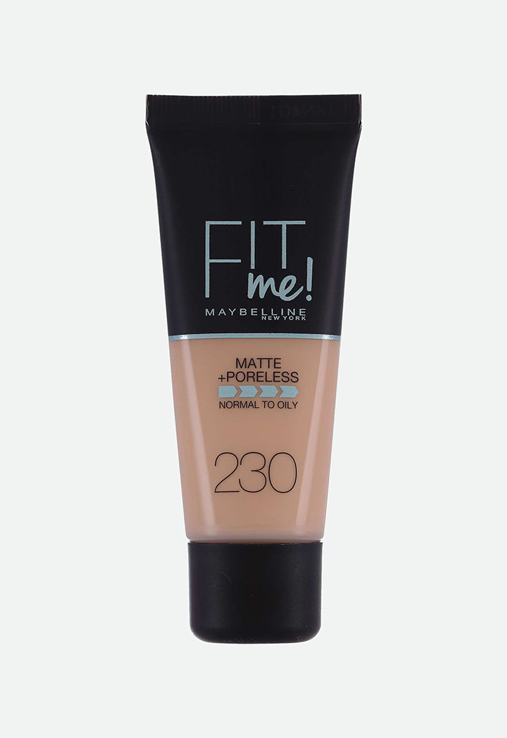 Maybelline Fit Me Matte Foundation - Wardrobe Fashion