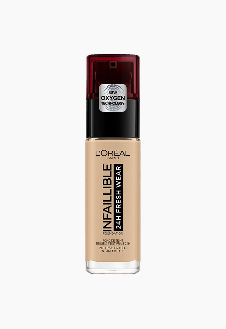 L'Oreal Infallible Freshwear Liquid Foundation - Wardrobe Fashion