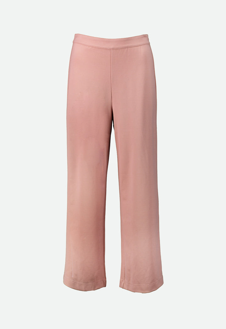 Choice Wide Leg Jersey Trouser Blush Light