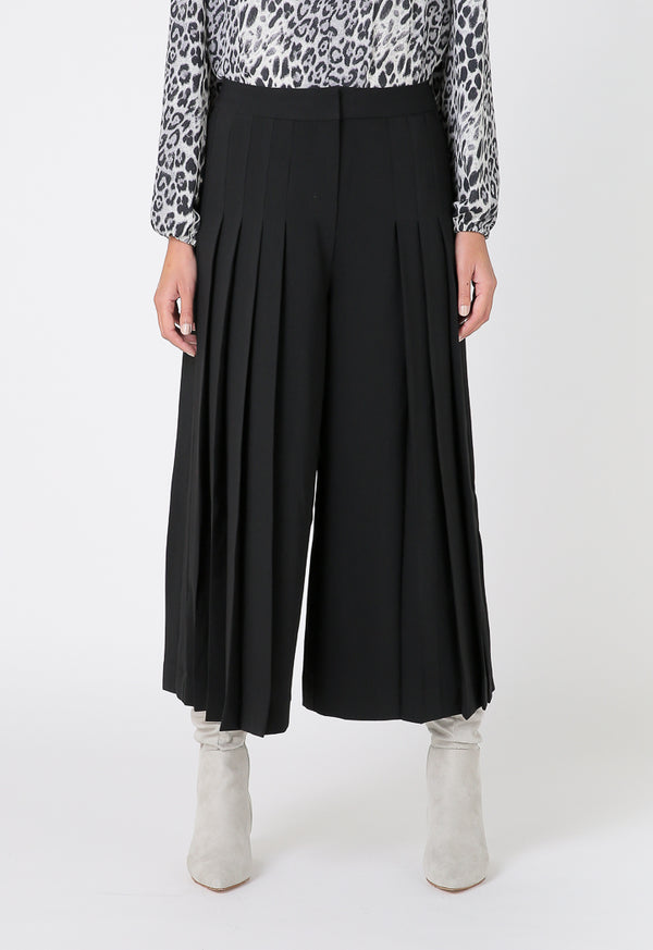 Choice Basics Pleated Trouser Black