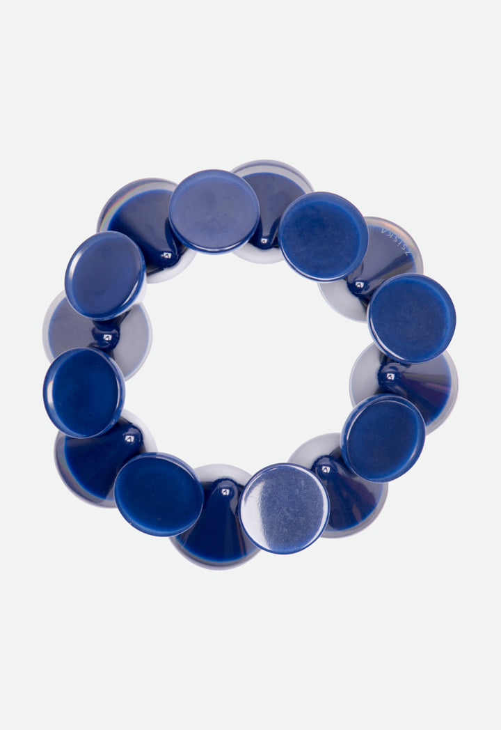 Choice Cone Shape Bracelet Blue - Wardrobe Fashion