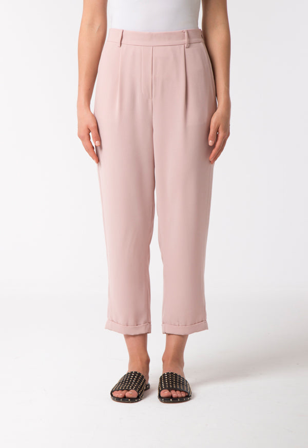 Choice Casual Crepe Trouser Blush Light