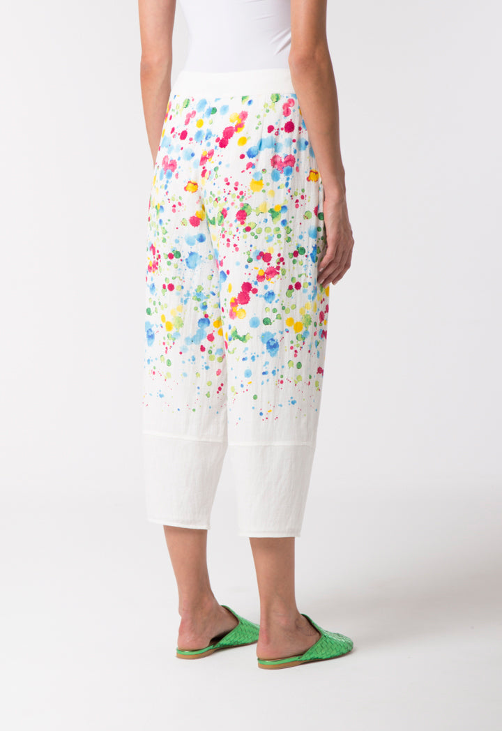 Choice Splatter Dye Trouser Multi Color