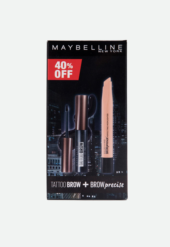 Maybelline Tattoo Brow And Brow Precise Set - Wardrobe Fashion