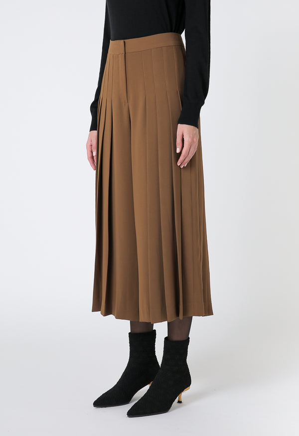 Choice Basics Pleated Trouser Terracotta