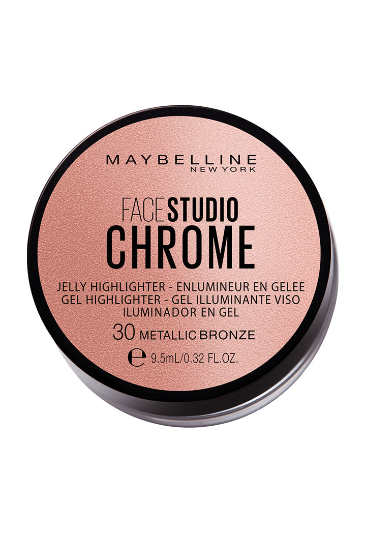 Maybelline Face Studio Chrome Jelly Highlighter - Wardrobe Fashion