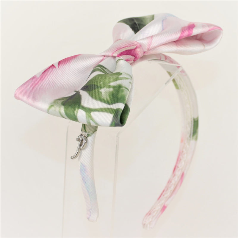 Petit Off White-Fushia Headband Off White-Fushia
