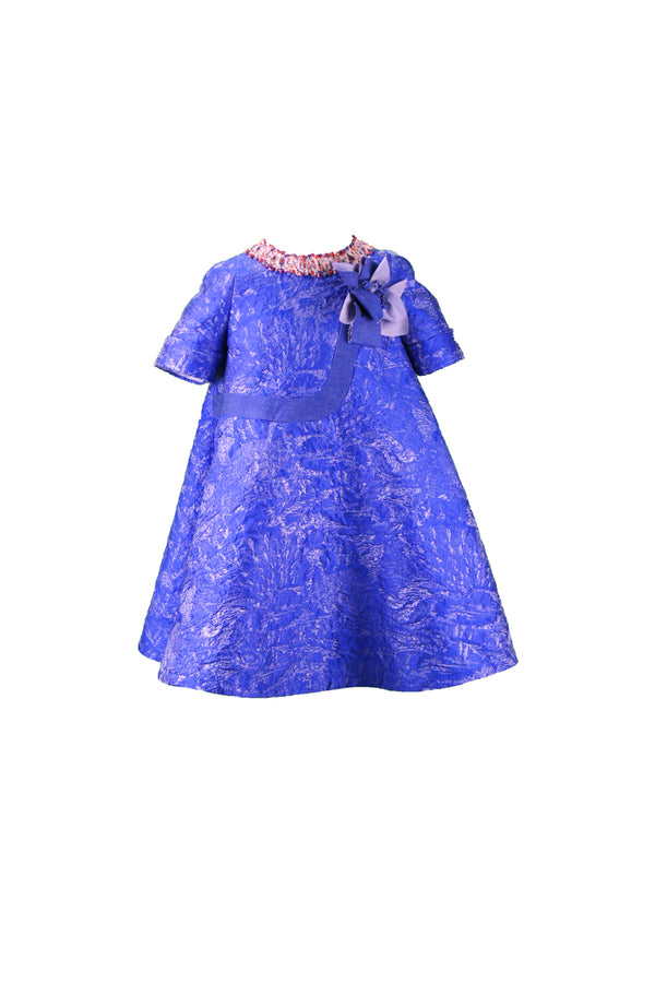 Mimisol Blu Color Dress Blue