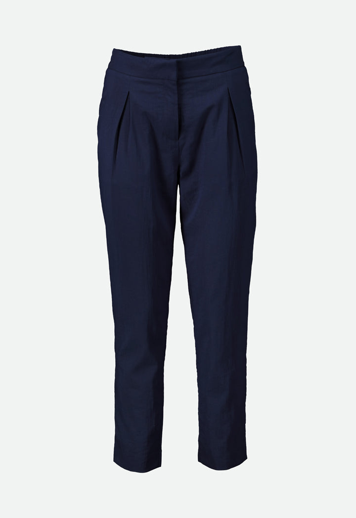 Choice Textured Casual Trouser Navy