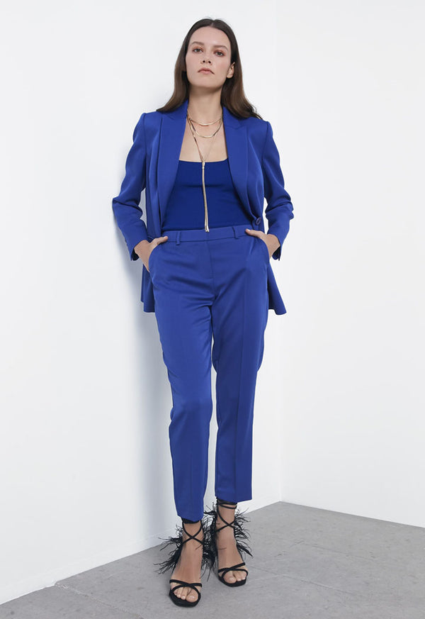 Ipekyol Trouser Blue - Wardrobe Fashion