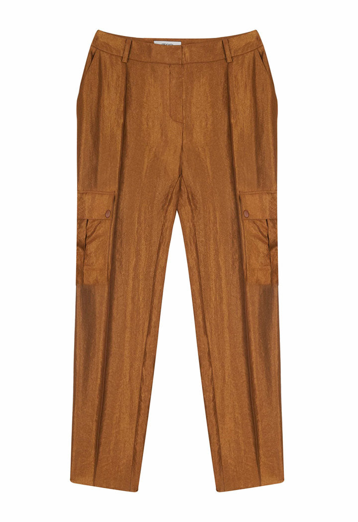 Ipekyol Trouser Brown - Wardrobe Fashion