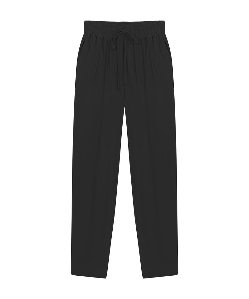 Ipekyol Trouser Elastic Waist Black - Wardrobe Fashion