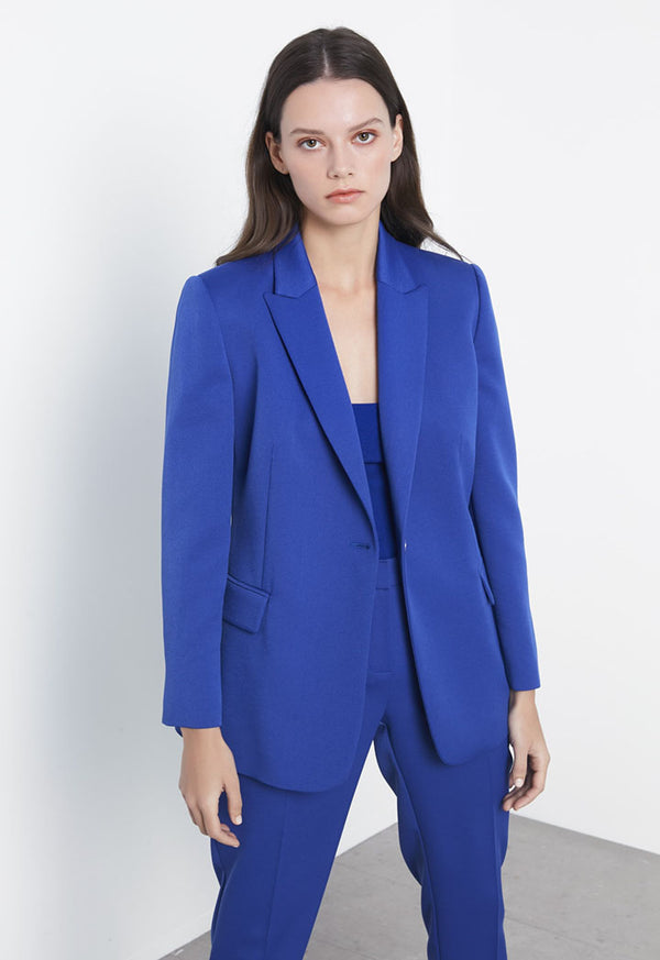 Ipekyol Blazer Blue - Wardrobe Fashion