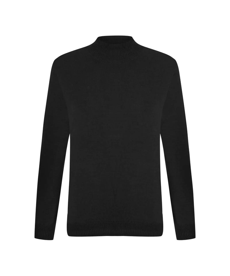 Ipekyol Long Sleeve High Neck Knitwear Black