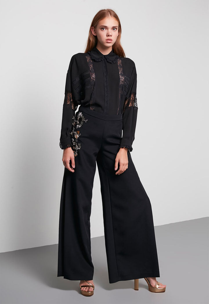 Machka Trouser Black - Wardrobe Fashion