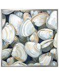 Clamouflage Canvas Print | Coastal Decor | Wall Art