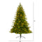 Colorado Mountain Fir Artificial Christmas Tree - Seasonal