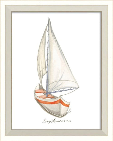 Dayboat 05 Framed Print - Coastal Decor - Wall Art