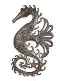 Flying Seahorse Metal Wall Art | Island Decor | Outdoor