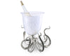 Octopus Glass Ice Bucket - Coastal Decor - Home Accessories