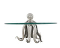 Pewter Octopus Desert Stand - Coastal Decor - Decorative Trays