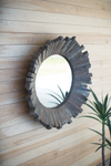 Recycled Wooden Mirror