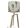 Seahorses on Celery Green Lamp