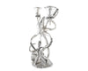 Two Taper Pewter Octopus Candelabrum - Coastal Decor - Candleholders.