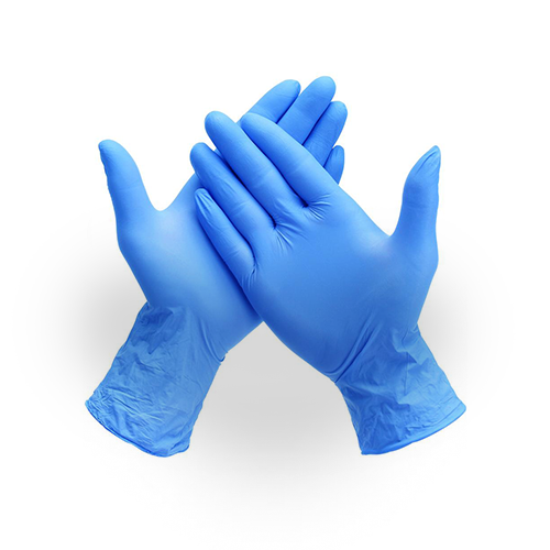 Disposable Nitrile Gloves 100 pack - Latex/Powder Free - Size S,M,L