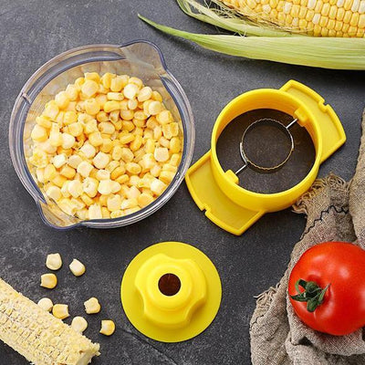 Corn Thresher - Quick Corn Peeler - FREE with Members Only Coupon